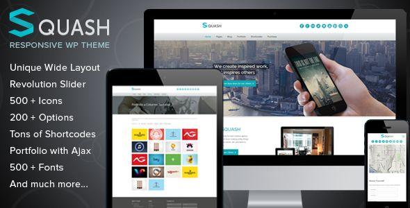 Squash - Creative Portfolio WordPress Theme