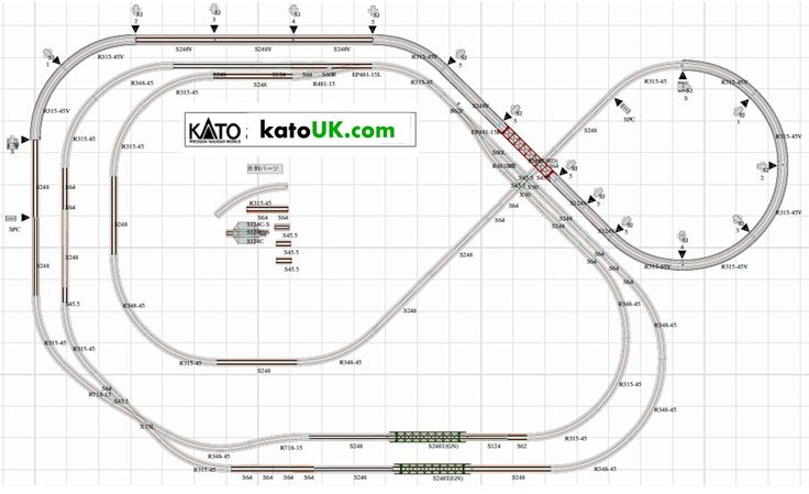 Best 25 Kato Unitrack Ideas Model Train