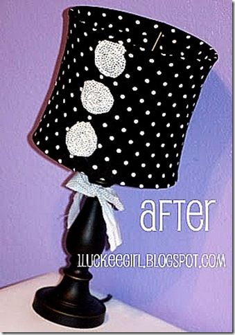 24 best polka dot lamp shade images on pinterest polka dots dots my guilty pleasure is french pink black white and polka dot decor diy lampshadelampshadesrecover aloadofball Choice Image
