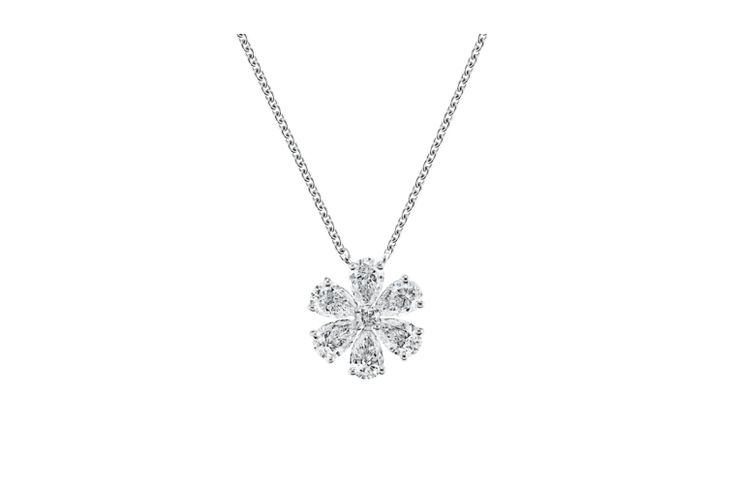 Forget-Me-Not by Harry Winston, Diamond Pendant