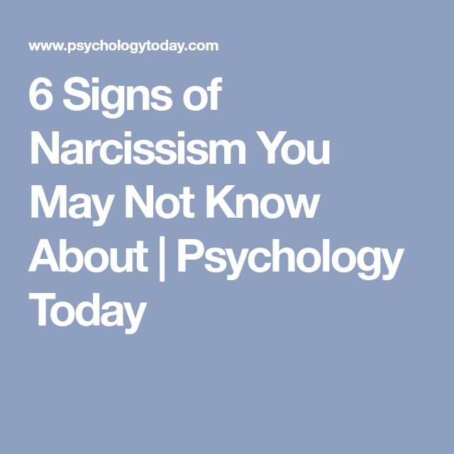 Signs You May Be Hookup A Narcissist