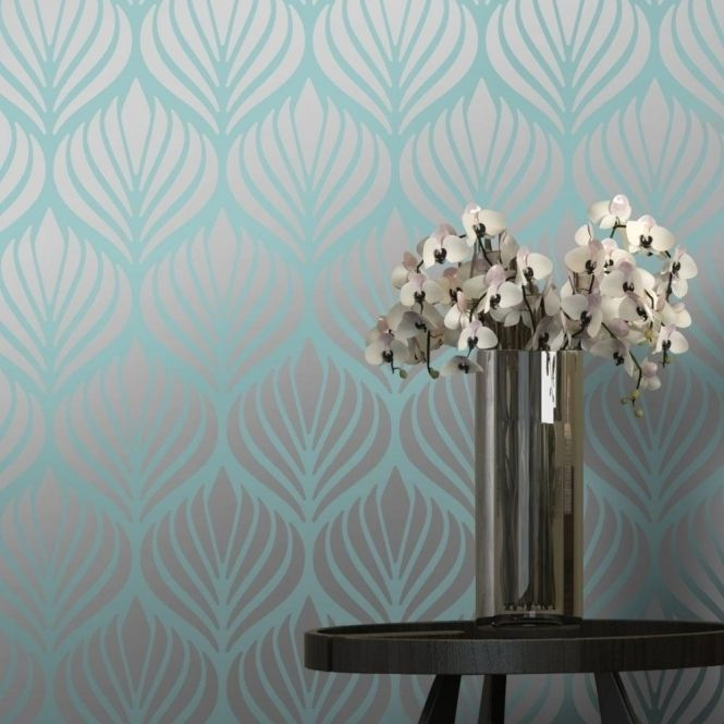 Silver Accent Wall Bedroom Bedroom Colors Brown Furniture Bedroom Furniture Paint Traditional Master Bedroom Decorating Ideas: 25+ Best Ideas About Teal Wallpaper On Pinterest