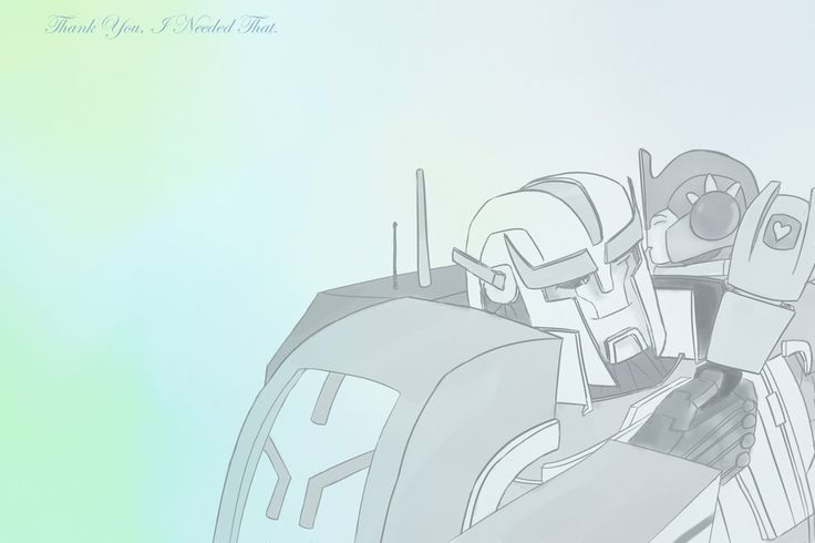 optimus baby and surrogate father ratchet, awww