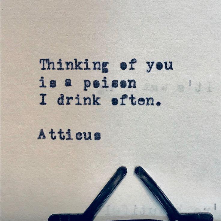 'Poison' #atticuspoetry #atticus #poetry #loveherwild #poison #forever @laurenholub