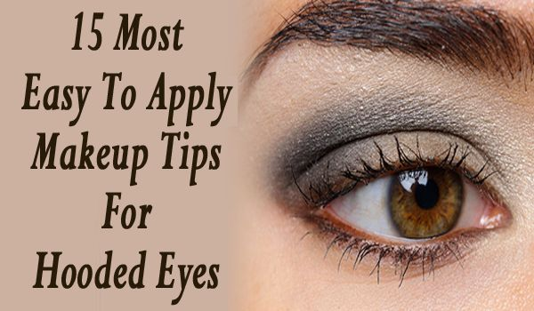 how to wear eye makeup with droopy eyelids