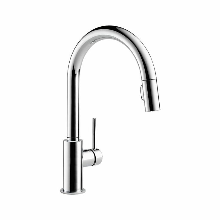9159-DST Trinsic Single Handle Pull-Down Kitchen Faucet : Kitchen Products : Delta Faucet