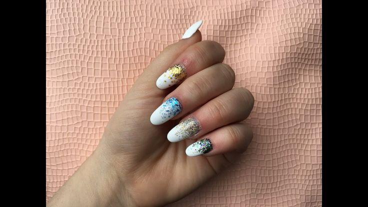 Everyday Nailing! How to apply glitter polish without a sponge! #nails #everyday #nailing #nailart
