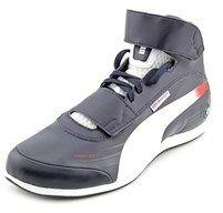 Puma Evospeed Mid Bmw 1.2 Men Round Toe Synthetic Blue Sneakers.