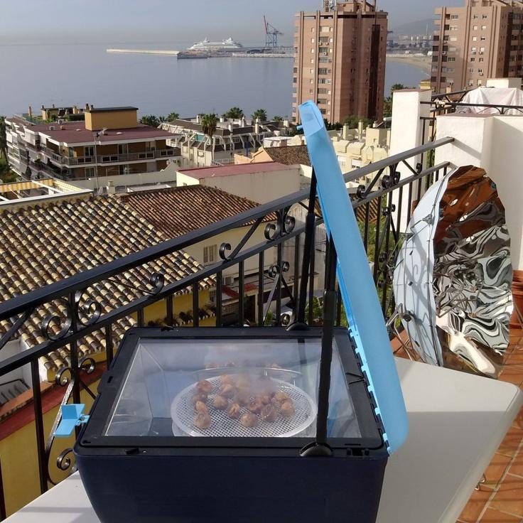 Para mañana cielo nublado y lluvia en Málaga. A los higos aún les falta secar ......Desde las 10:30... pinned with @PinvolveLove