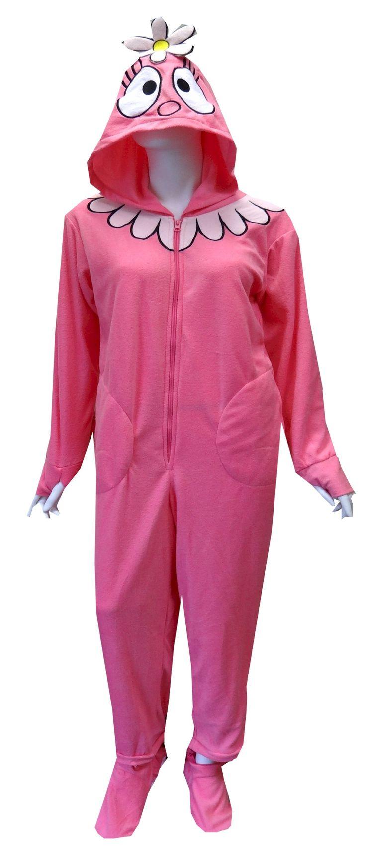 Yo Gabba Gabba Foofa Adult Footie Onesie Pajamas   Awesome ...
