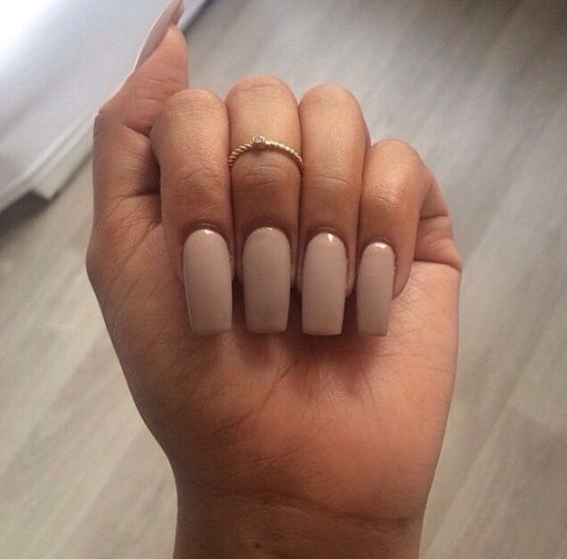 Not too fancy   Tapered square nails, Types of nails