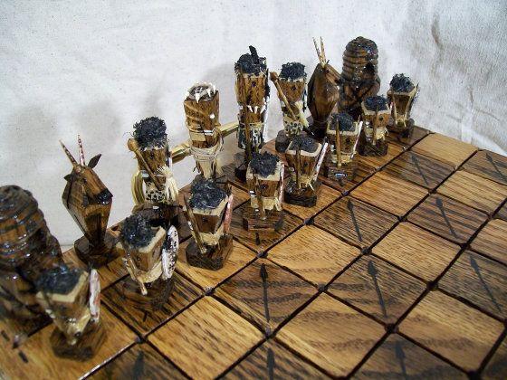 戦国武者が駆ける和風チェスや弾丸製チェスなど変なチェスセットいろいろ - GIGAZINE