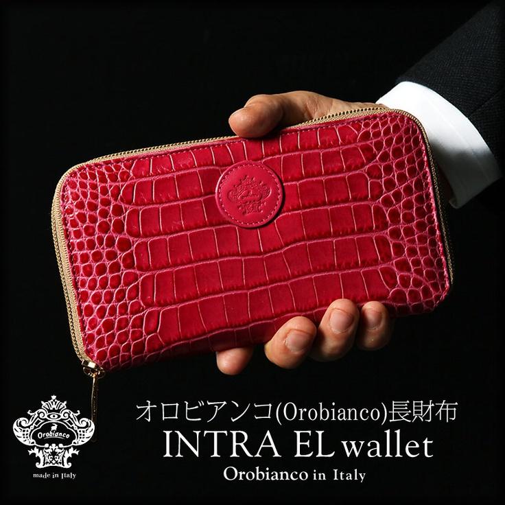 """オロビアンコ OROBIANCO 長財布 """"INTRA EL wallet""""【楽天市場】"""