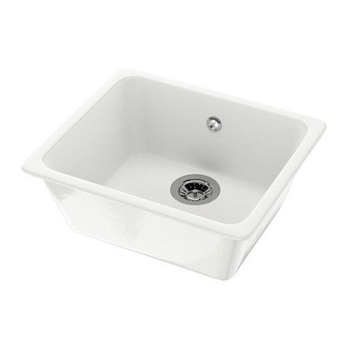 DOMSJÖ Évier à encastrer 1 bac IKEA Garantie 25 ans gratuite. Détails des conditions disponibles en magasin ou sur internet.