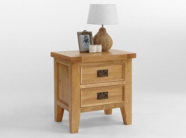 Somerset Oak 2 Drawer Lamp Table Http Www Solidoakfurniture Co