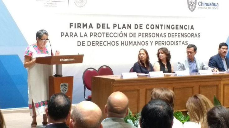 <p>Chihuahua, Chih.- Durante su discurso en representación de las organizaciones de la sociedad civil organizada que participaron en la elaboración