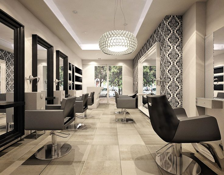 Hairdresser salon Roma design