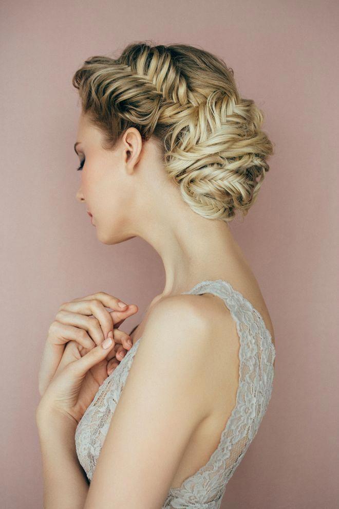 Die schönsten Brautfrisuren mit Schleier #Updostutorials