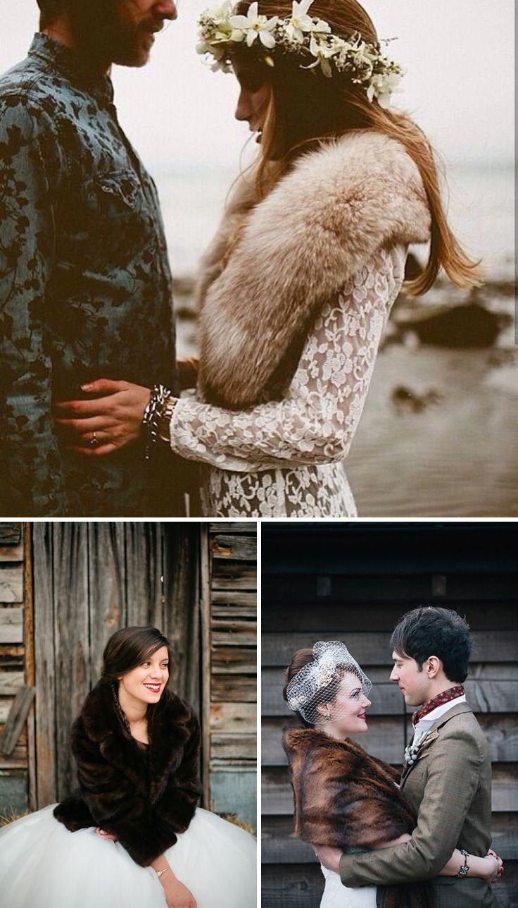 La mariée d'hiver en (fausse) fourrure | Look Mariage | Queen For A Day - Blog mariage