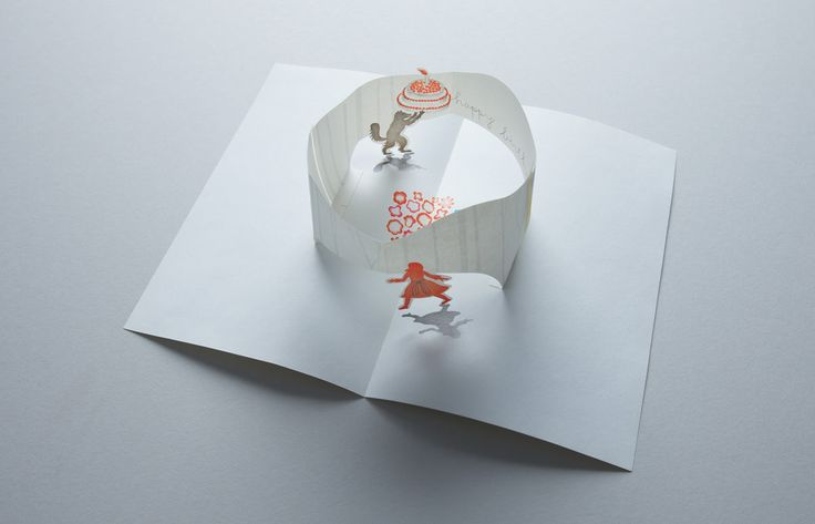 bloom pop up card by D-BROS