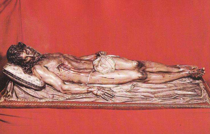 Gregorio Fernández - Cristo yacente de el Pardo