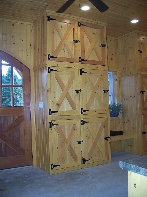 Tack Room Lockers Cabinets Barn Pinterest Barns