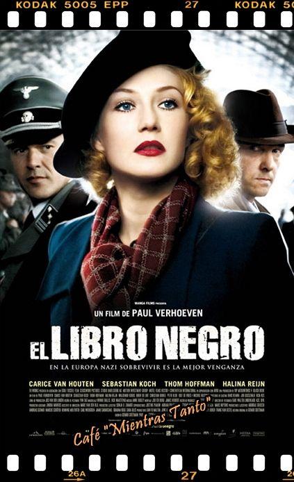 """Cine Sala """"Charles Chaplin"""" - El libro negro (2006) - Ingresa a la sala pulsando el Link: http://cine-sala-a01-jcp.blogspot.com/2016/04/el-libro-negro-2006-dir-paul-verhoeven.html"""