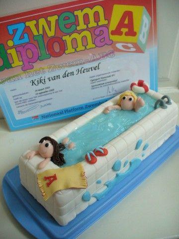 diploma A cake