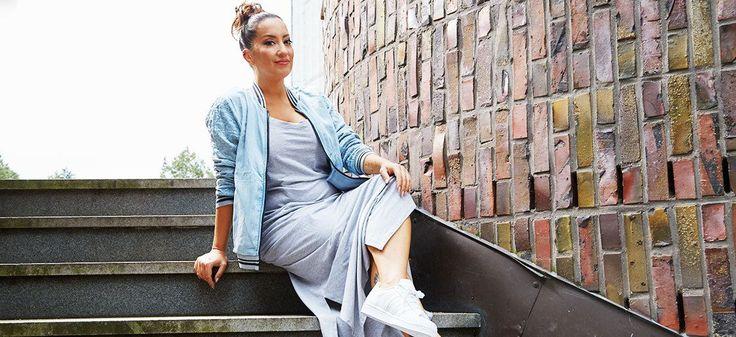 Unsere Bloggerin Miyabi Kawai stellt auf Soulfully einen sportlichen Look für Große Größen vor! » Junge Mode in Großen Größen ✓ Sommerkleider ✓ Maxikleid ✓