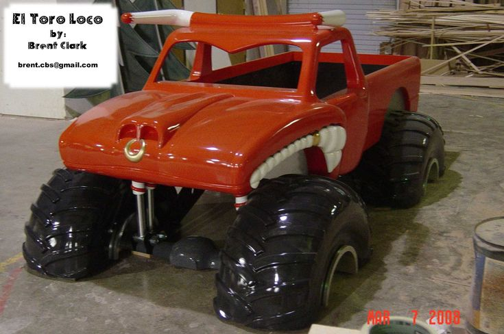 Pin by Missy Blum on Bedroom for Mason | Monster truck bed ...