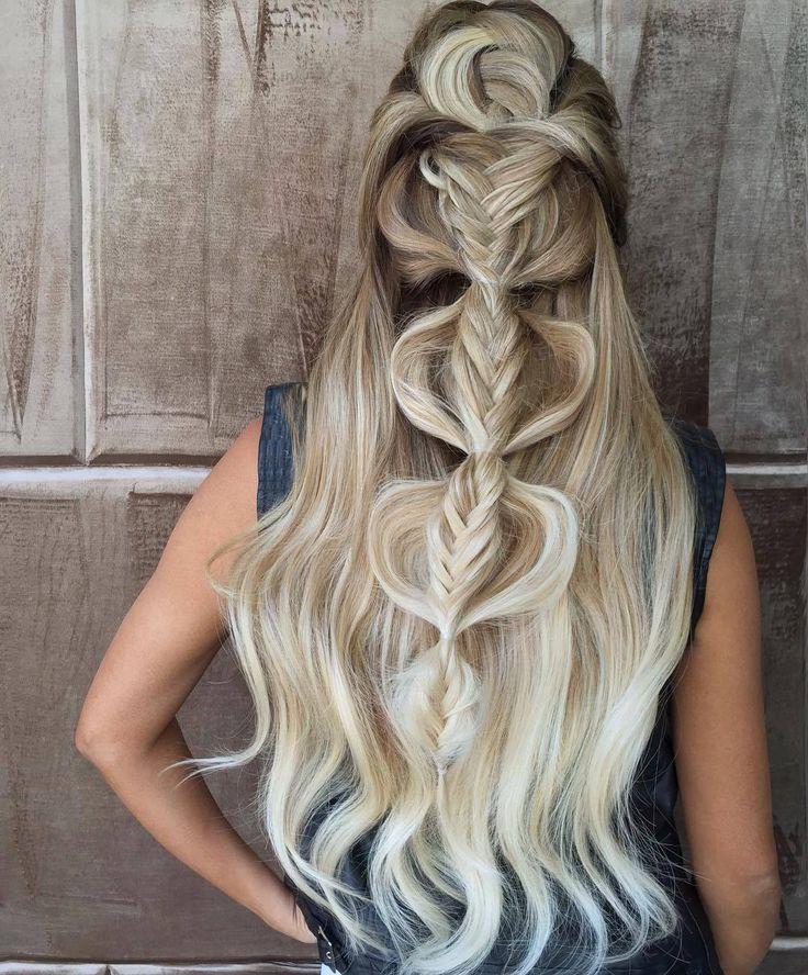 cool Окрашивание балаяж на длинные волосы (50 фото) — Модные идеи и прически