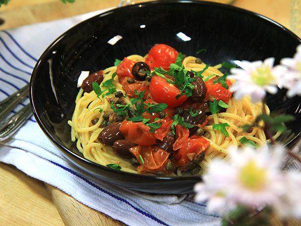 Spaghetti alla puttanesca | Recept.nu