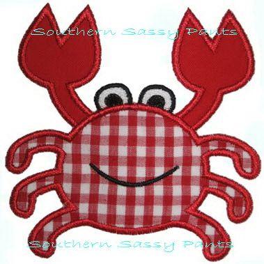 crab applique pattern | Crab Applique | Flickr - Photo Sharing!