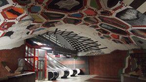 Tunnelbana, la metropolitana di Stoccolma