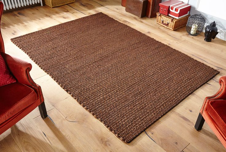 Skilfully handwoven, this Oslo Coffee Rug is durable, hardwearing and practical for high traffic areas. #durablerugs #brownrugs #largerugs #runners