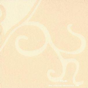 Flair Creme   - luxusné svadobné servítky z netkanej textílie, ornament, krémová rozmer 40x40