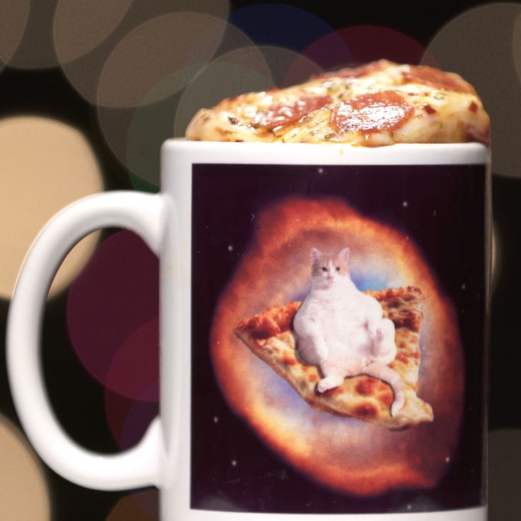 Space Cat Pizza shows you how to make Pizza Bread in A Mug!