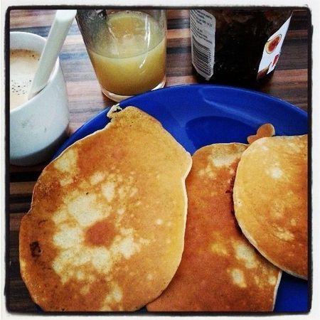 Pancakes du week-end (Weight Watchers !) - Le petit monde de Jujuteam