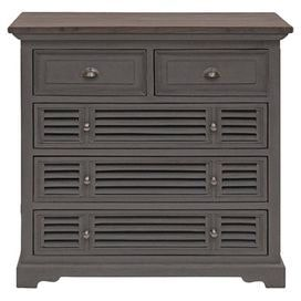 a charming addition to your master suite or living room this chest of five drawers