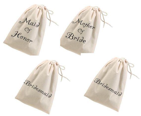 Encargo de Dama de honor bolsas bolsas de por CarverCustomDesigns