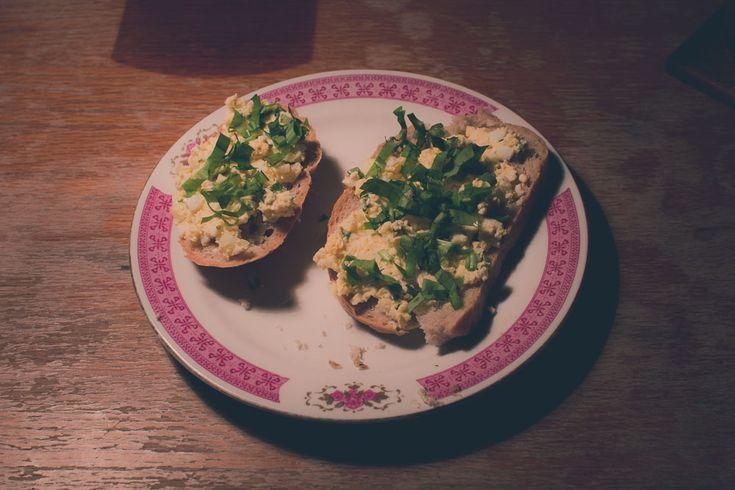 Delicious Egg Spread #ramsons #woodgarlic #eggs #spread #recipes