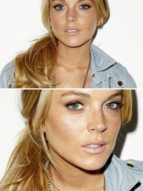 Lindsay Lohan Movie's: The Parent Trap.. Freaky Friday.. Life Size.. Georgia Rule... I Know who Killed Me... Mean Girls..