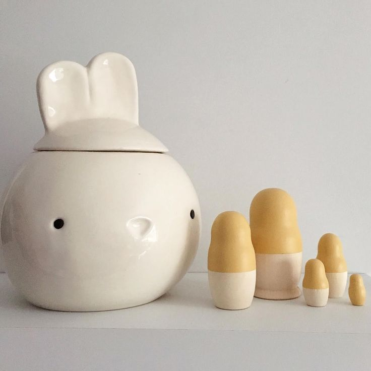 Mustard Nesting Dolls by Tiger Lily Tots