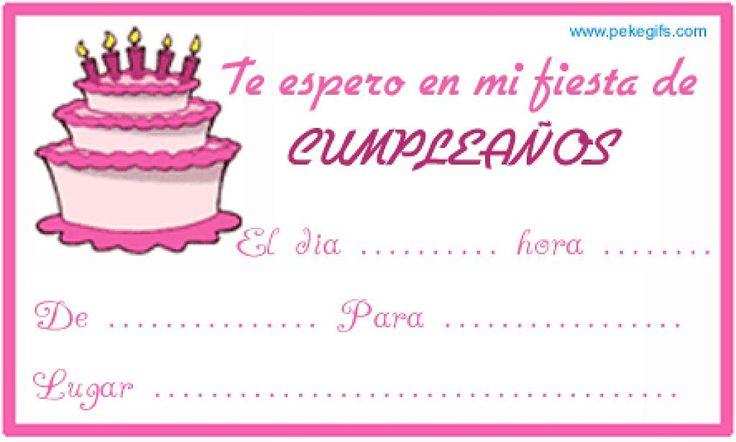 Crear Invitaciones De Cumpleaños Para Fondo De Pantalla En Hd 1 HD Wallpapers