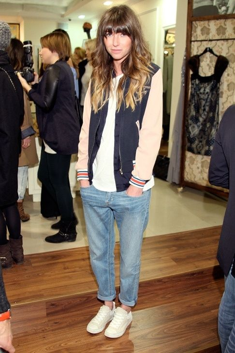 i wish i could pull something like this off. I mean I'm sure I could, it would just require a good pair of boyfriend jeans