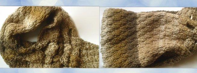 scheepjes Ambiance colour  kleur 2 wol/acryl colsjaal gevlochten sjaal