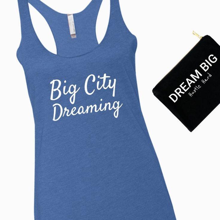 Always dream big and hustle hard ❤