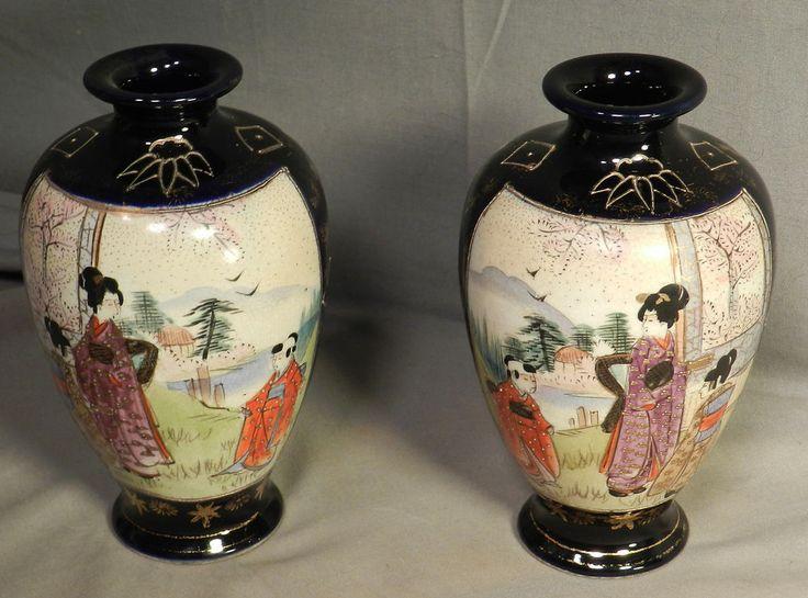Download Wallpaper Cobalt Vases Full Wallpapers