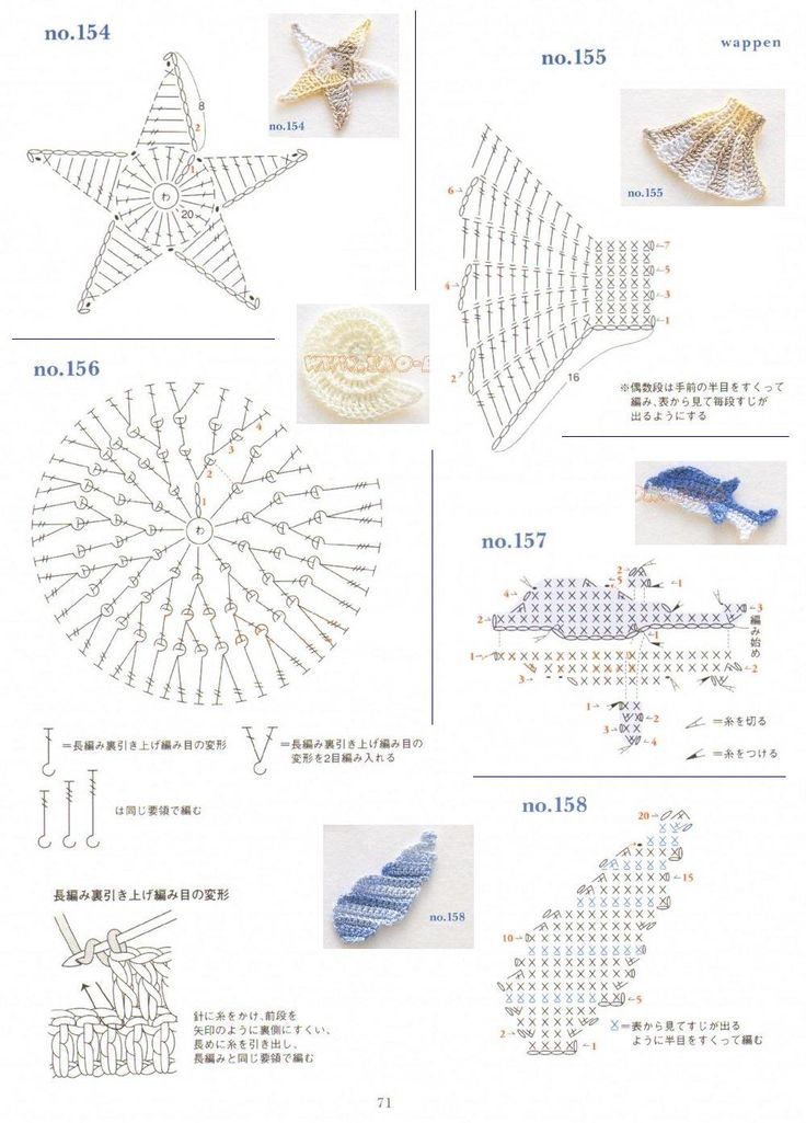 232 best small gifts knittin crochet images on pinterest crochet of the ocean diagram starfish dolphin and seashells these will be appliques for ccuart Choice Image
