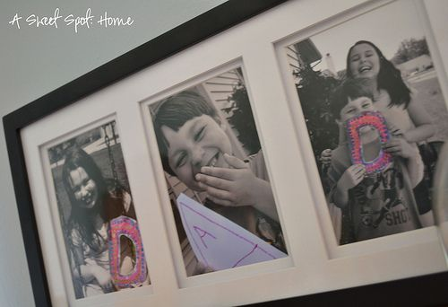 Our Homemade Fathers Day Gift to Dad! #fathersday #crafts #diy #kids #holidays #photography #simplecrafts